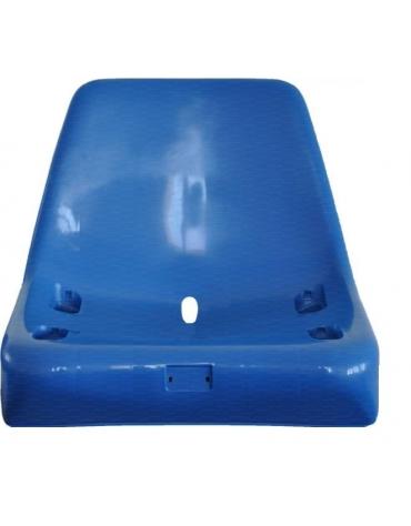 Seduta con schienale 420 x 400 x 320 mm.