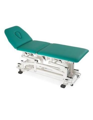 Lettino massaggi a 3 segmenti regolabile elettricamente Dim. 190 x 65  x 45/90 h