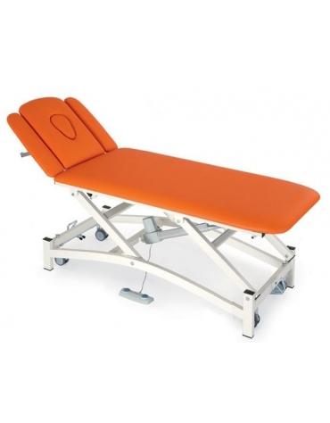 Lettino massaggi a 4 segmenti regolabile elettricamente Dim. 190 x 65  x 47/80 h