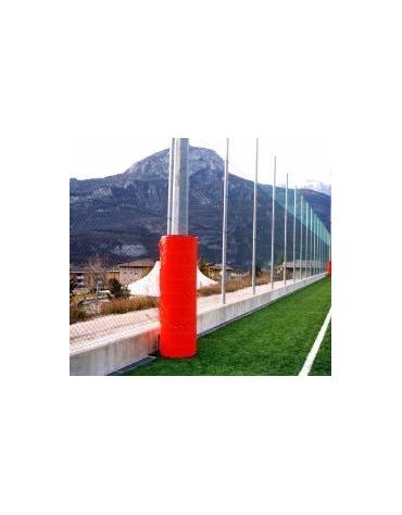 Protezione per colonna a sezione tonda.