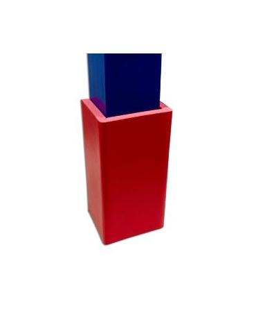 Protezione per colonna a sezione quadrata.