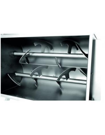 Impastatrice per carne CARRELLATA KG. 50 - Monopala - TRIFASE