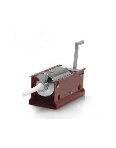 Insaccatrice orizzontale in acciaio ROSSO - capacità 3 Lt.