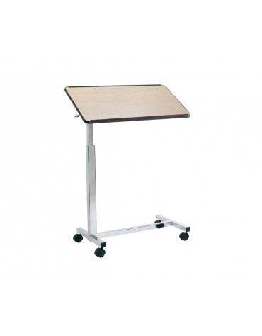 Tavolino servitore con struttura in acciaio - altezza e angolazione regolabili
