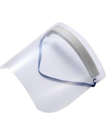 Maschera protettiva con rotazione a 90° - schermo antiappannante spessore 0.5 mm - protezione totale dal viso contro spruzzi