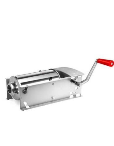 Insaccatrice orizzontale manuale pistoni in Moplen - capacità 5 Lt.