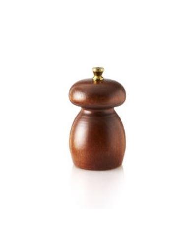 Macinapepe manuale in legno - macine in acciaio - Altezza 8 cm