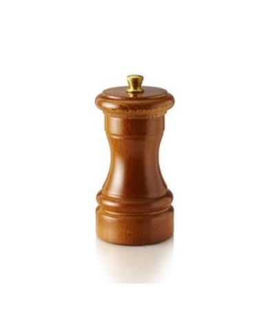 Macinapepe manuale in legno - macine in acciaio - Altezza 10 cm