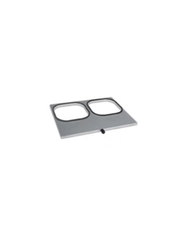 STAMPO GN 2 x mm (180x180)  per termosigillatrice per vaschette
