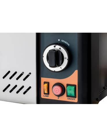 Forno pizzeria professionale a gas-Camera da cm. 92x92x15,5h