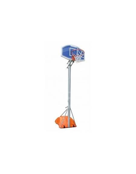 Mezzo Impianto basket-minibasket con base zavorrabile