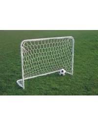 Coppia reti calcio regolamentari, in polipropilene diam.6, tipo inglese.