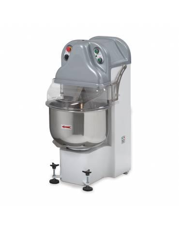 Impastatrice a braccia tuffanti - Capacità d'impasto da 5 a 40 Kg - Capacità farina da 3 a 25 Kg - Volume vasca Lt 40 - 2 Veloci