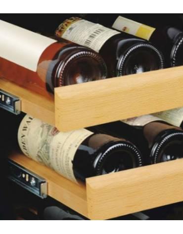 Cantinetta per vini statica da incasso a parete mm 590x596x455h