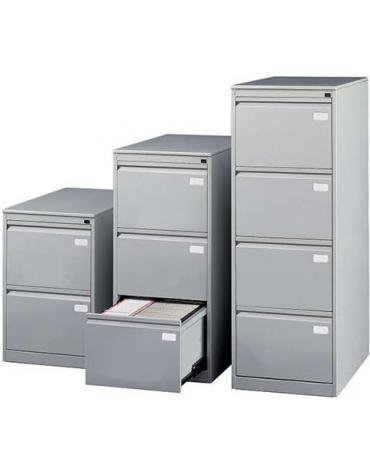 Classificatore metallico 4 cassetti cm 46x63x136h