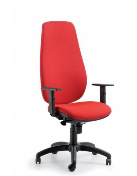Poltrona ergonomica oscillante alta con braccioli