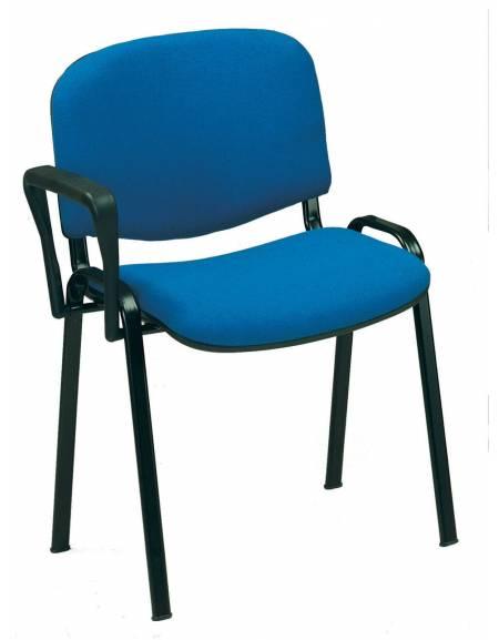 Sedia girevole con braccioli