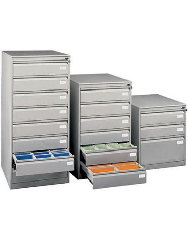 Classificatore metallico cm 64x63x104,9h a 6 cassetti