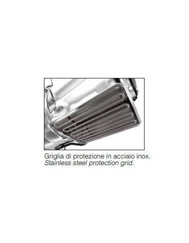 Grattugia  in acciaio inox con microswitch di sicurezza - colori a scelta