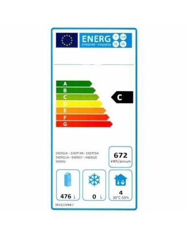 Armadio frigo professionale Lt. 600 / +2° +8°C - cm 77,7x69,5x189,5h