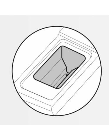 Friggitrice 2 vasche Lt 13+13 DIMENSIONI CM.80x70x85h