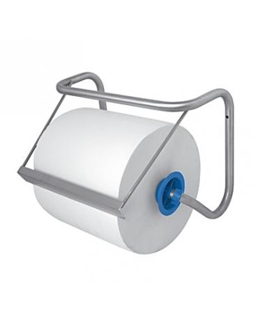 Distributore a muro di carta asciugamani in rotolo - Inox