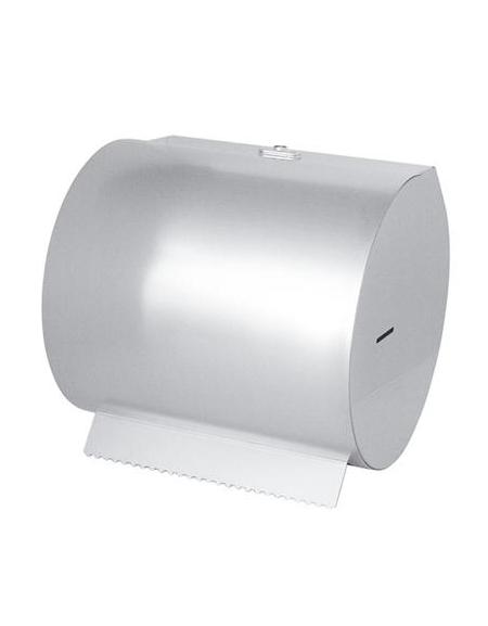 Portarotolo inox carta orizzontale a muro cm 30x33 - Portarotolo cucina ...
