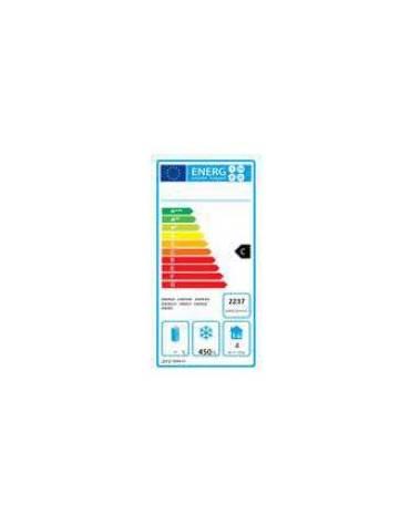 Tavolo Refrigerato ventilato in acciaio Inox - 4 porte - 560 Lt. - temp. -22° -18°C - teglie GN 1/1 - mm 2230×700×850h