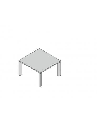 Tavolo riunioni gamba legno 120x124x74h