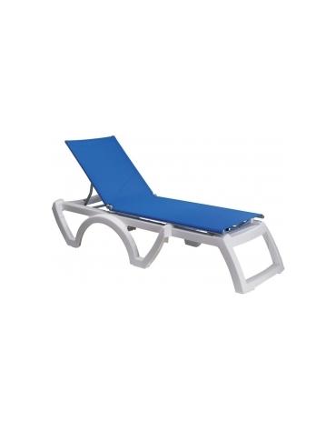 Lettino Jamaica Beach Telo blu