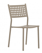 Sedia in metallo verniciato - cm39x39x83h