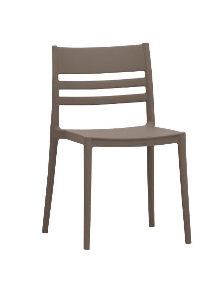 Sedia in polipropilene con fibra di vetro - cm 41x41x79h