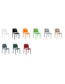 Sedia in polipropilene con fibra di vetro - cm 46x45x79h