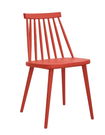 Sedia con struttura in polipropilene - cm 43,5x40x77,5h