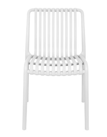 Sedia con struttura in polipropilene - cm 45x46x80h