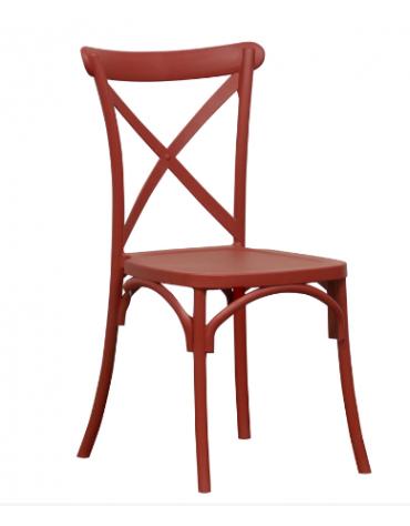 Sedia con struttura in polipropilene - cm 45x42,5x88h