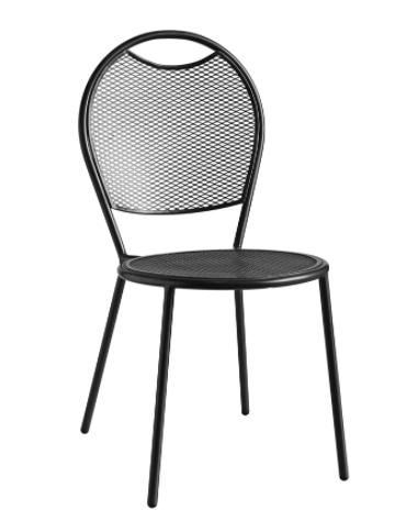 Sedia in acciaio verniciato