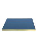 Piano tondo completo di vetro, retrolaccato spessore 30 mm - per interni - cm Ø 70