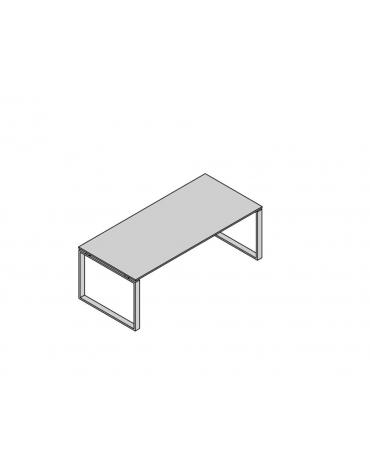 Scrivania lineare g. anello L200
