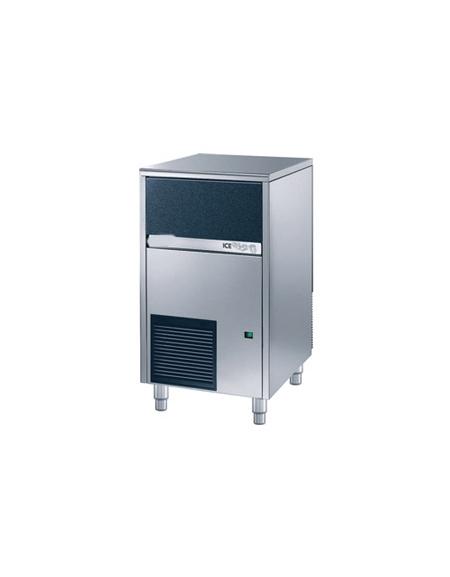 Produttore fabbricatore di ghiaccio a cubetti cavi 45Kg/24h