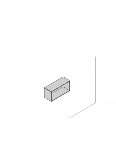 Pensile sospeso a muro 90x33x41,6 a giorno