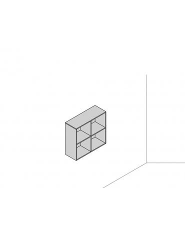 Base sospesa a muro 90x33x83,2 quadrato