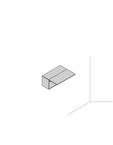 Pensile sospeso a muro 90x35x41,6 con vasistas