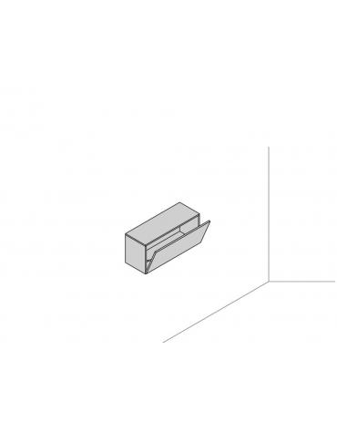 Pensile sospeso a muro 90x35x41,6 con ribalta