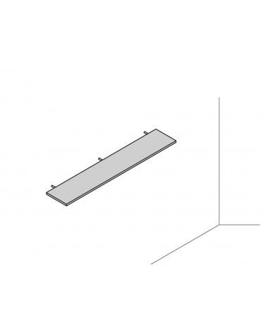 Mensola a muro 180x32x2,5