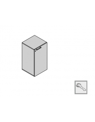 Contenitore a 1 anta 45x45x88h