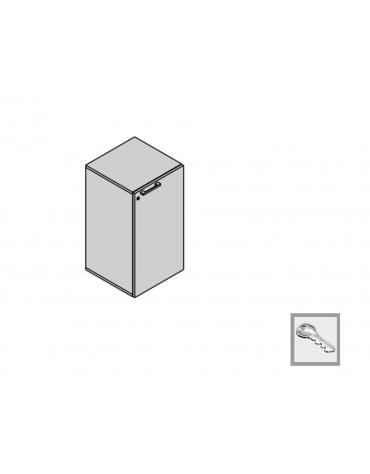 Contenitore a 1 anta 45x35x88h