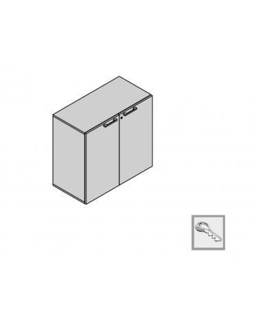 Contenitore a 2 ante 90x35x88h