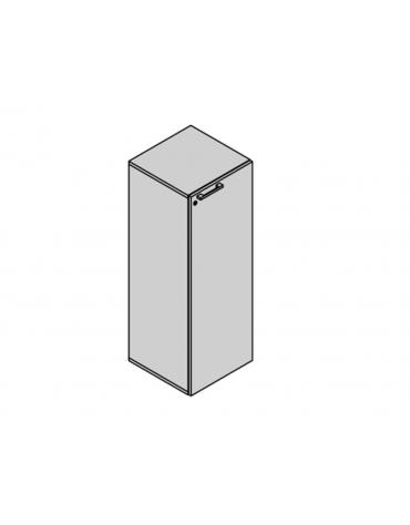 Contenitore a 1 anta 45x45x130h
