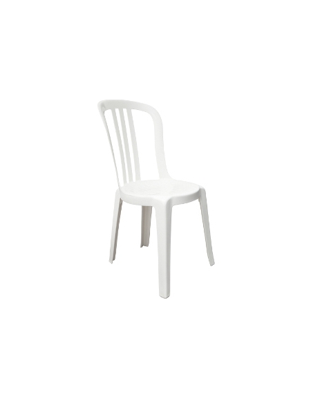Sedie In Resina Colorate.Sedia In Resina Bianca Miami Bistrot X Sedie E Tavoli Per Bar O